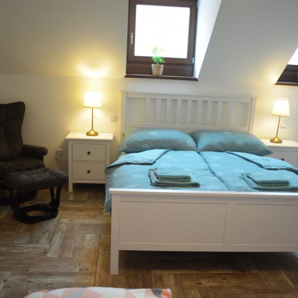 Ložnice apartmán Sušice